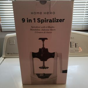 9 in 1 Spiralizer for Sale in Tacoma, WA