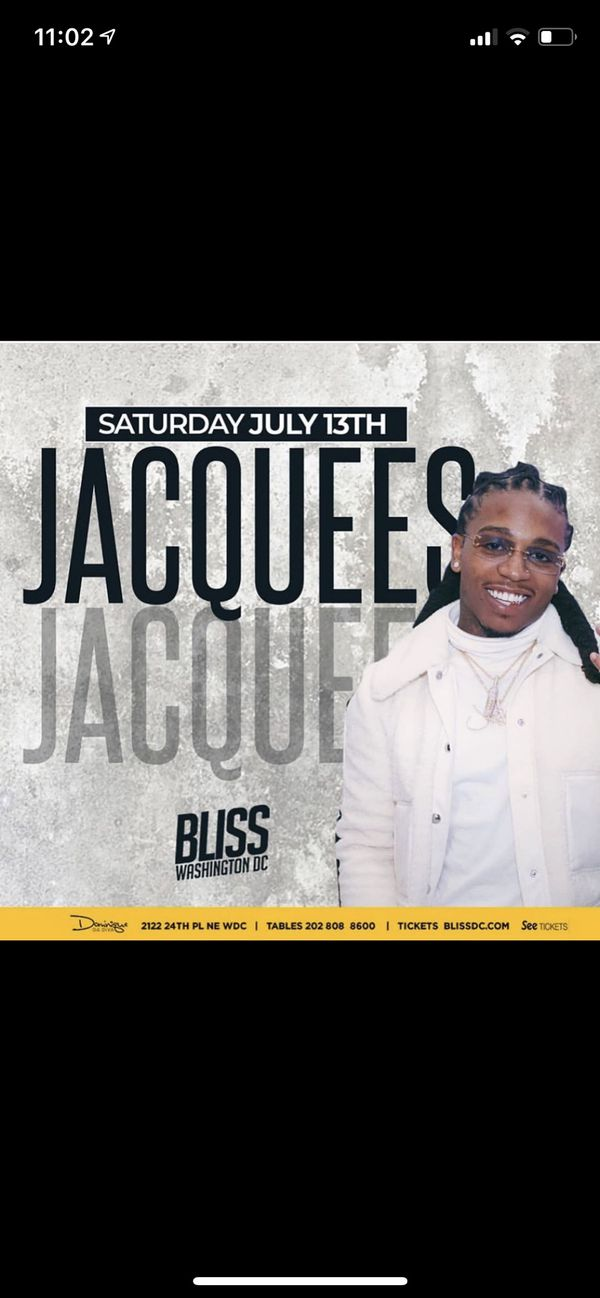 Jaquees Live at Bliss