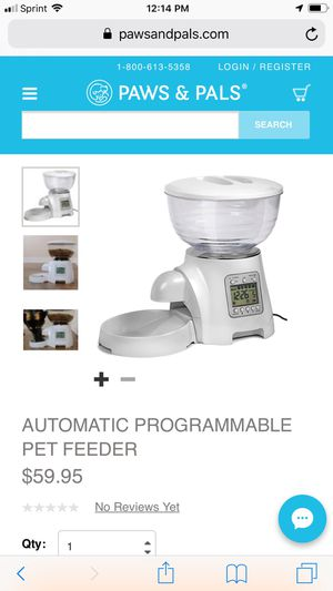 Automatic Pet Feeder for Sale in Stockton, CA