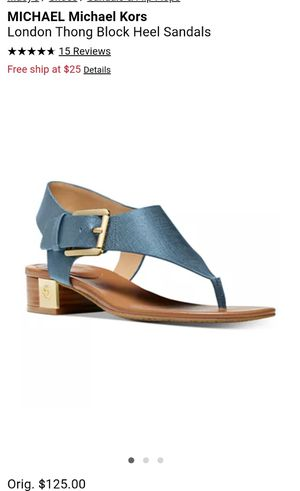 NEW - Michael Kors Sandals 7.5 for Sale in Clearwater, FL