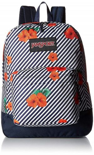 JanSport Black Label Superbreak Backpack (Linear Hibiscus) New withTags for Sale in Deerfield Beach, FL