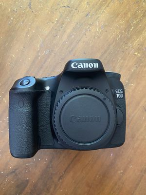 Canon 70d excellent condition for Sale in Alameda, CA