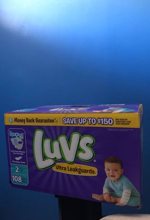 Diapers size 2 for Sale in Yonkers, NY