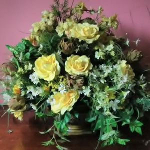 Artificial silk Flowers In Vases Or Baskets $20 - $80 Each now In NE DC for Sale in Arlington, VA
