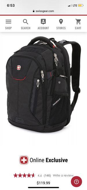 Swiss gear laptop backpack $50 OBO for Sale in Portsmouth, VA