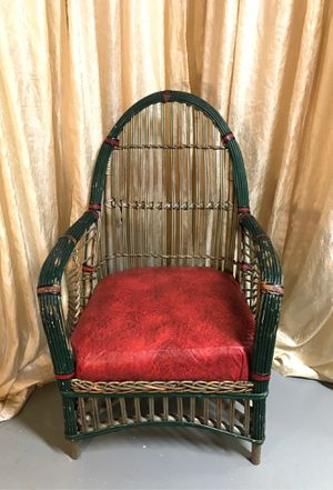 Antique wicker chair for Sale in McMurray, PA