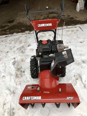"Craftsman 27"" 8.5hp snowblower w/electric start for Sale in Gobles, MI"