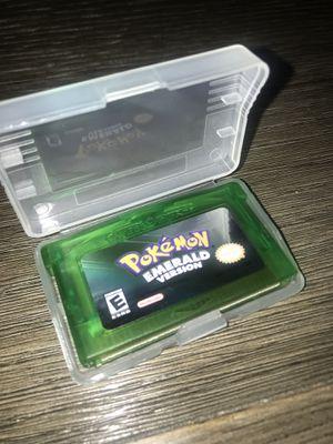 Pokemon Emerald Version Nintendo Game Boy Advance for Sale in Rockwood, MI