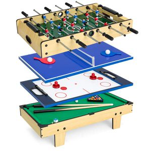 4-IN-1 MULTI ARCADE COMPETITION GAME TABLE SET W/POOL BILLIARDS, AIR HOCKEY, FOOSBALL, TABLE TENNIS Price $70 for Sale in Cleveland, OH