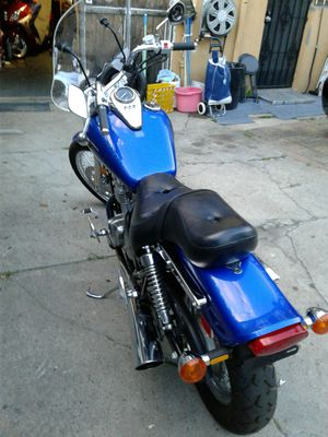 Motorcycle 174 k clean title garage kept , fering, high way floor board, 5 forward gears. Contact Errol . @ {contact info removed}. for Sale in Brooklyn, NY