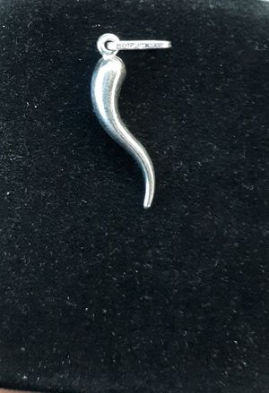 14k white gold, horn pendant, or charm(no chain) for Sale in Denver, CO
