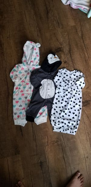 《CARTER'S & BABY CREYSI》Baby Pajamas for Sale in Anaheim, CA