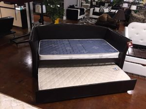 Nice twin over twin day bed brand new for Sale in Chicago, IL