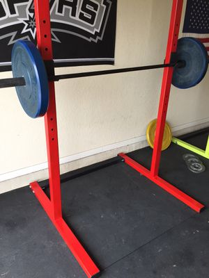 Squat Rack - Excercise & Fitness Equipment for Sale in Midland, TX