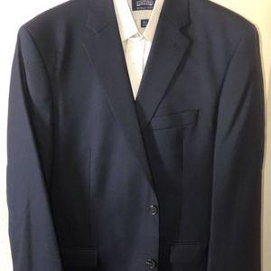 Ralph Lauren Stafford Men's Suit 3 Piece + Shirt Pants Navy Blue for Sale in Rancho Cucamonga, CA