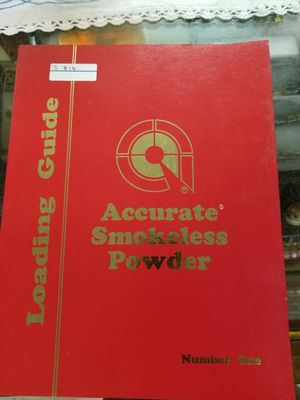 Accurate smokeless powder reloading guide for Sale in Spout Spring, VA