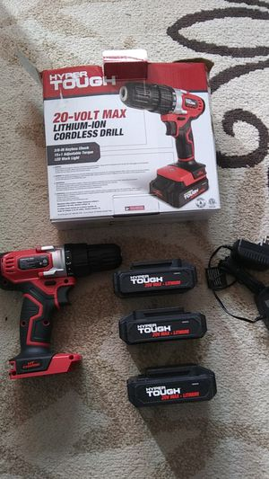 Hyper Touch 20v drill for Sale in Martinsburg, WV
