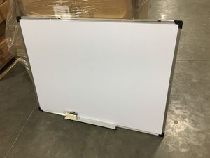 New 47x35 inches dry erase marker writing tutor board with eraser magnetic dry erase board home study office white board for Sale in Whittier, CA
