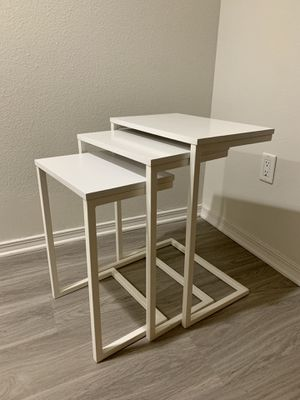 Multi-Purpose Various Sized Set of 3 Side Table / Nightstand ☁️ for Sale in Santa Monica, CA