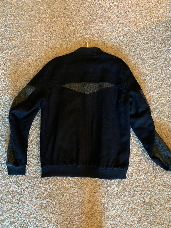 Civil Society Men's Bomber Wool Jacket