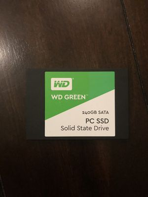 WD green 240GB ssd for Sale in Livermore, CA