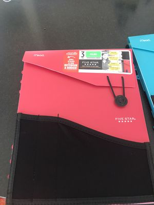 Brand new notebook/binder with tabs for Sale in Chandler, AZ