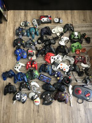 3rd party controllers Xbox Nintendo PlayStation sega for Sale in Evanston, IL