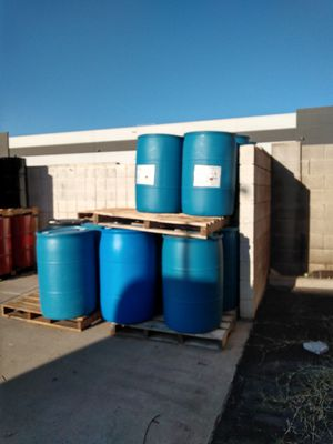 Plastic barrels for Sale in Gilbert, AZ
