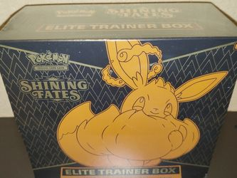 Pokemon TCG: Shining Fates - Elite Trainer Box (ETB) for Sale in Fresno,  CA