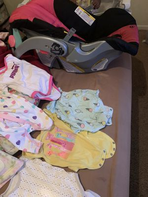 Baby clothes and car seat for Sale in Atlanta, GA
