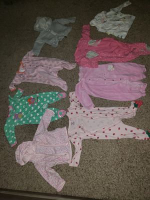 Different size baby clothes 3- 6-9 for Sale in Denver, CO