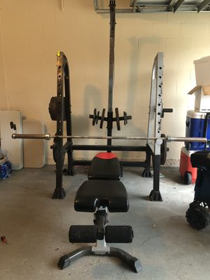 Bench Press Set for Sale in Tampa, FL