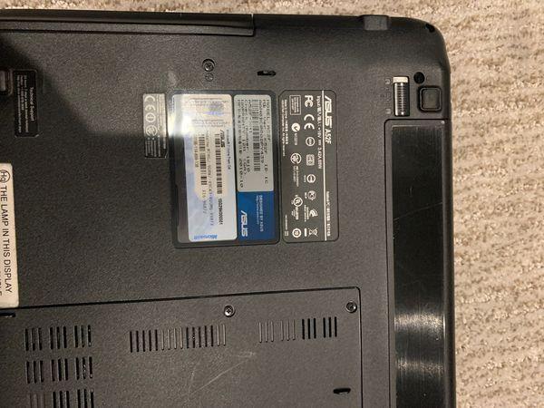 Asus laptop A52f