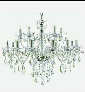Clear 15 Lights K9 Crystal Chandelier Luxurious for Sale in Tucson, AZ