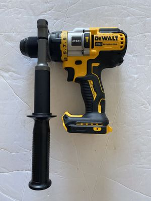 DEWALT XR BRUSHLESS HAMMER DRILL 3 SPEED ( no battery no charger ) for Sale in Tamarac, FL