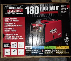 Lincoln pro mig 180 welder for Sale in Waldorf, MD