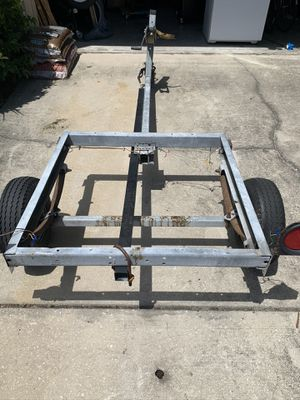UTILITY TRAILER WITH WINCH for Sale in Kissimmee, FL