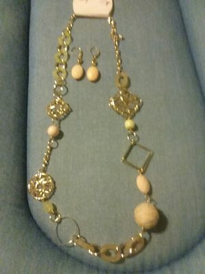 Necklace and earrings set for Sale in Salt Lake City, UT