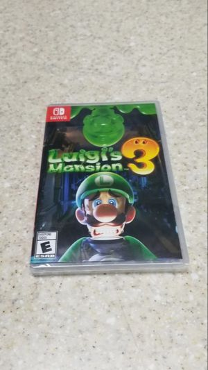 Luigi's Mansion 3 Nintendo Switch for Sale in Phillips Ranch, CA