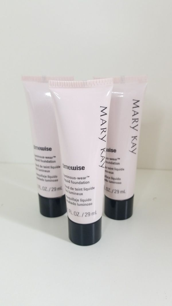 Bundle: New Mary Kay MakeUp Foundations Ivory 3, 4 & 7