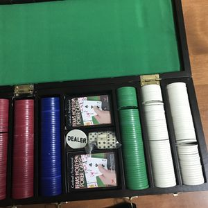 Poker Chip Set for Sale in Middletown, CT
