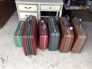 Old suitcases !!! for Sale in Oviedo, FL