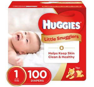 100 Huggies Diapers Size 1 for Sale in McKees Rocks, PA