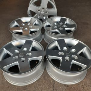 "Jeep wheels rims wrangler 17"" for Sale in Miami, FL"