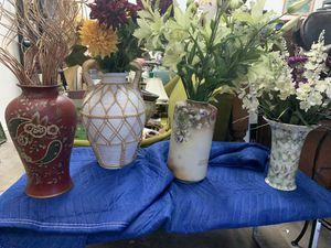 Vases $10 each for Sale in Delray Beach, FL