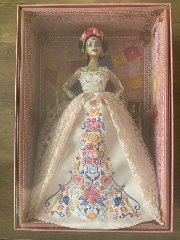 Barbie Dia De Los Muertos Doll Day of The Dead DOTD 2020 Pink IN HAND