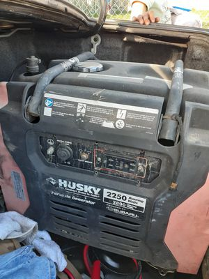 Husky generator for Sale in Pumpkin Center, CA