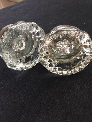 2 Antique Crystal Door Knobs for Sale in Charles Town, WV