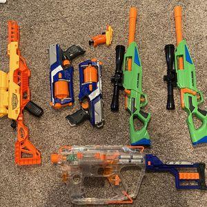 Nerf Guns Set for Sale in Cornelius, OR