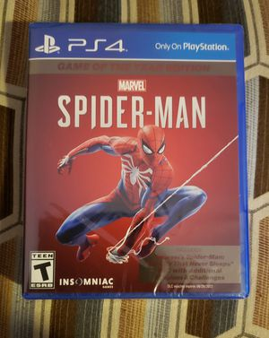 Spiderman PS4 Brand New for Sale in Las Vegas, NV